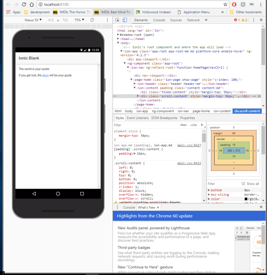 Getting Started With Building and Testing Ionic apps on Android
